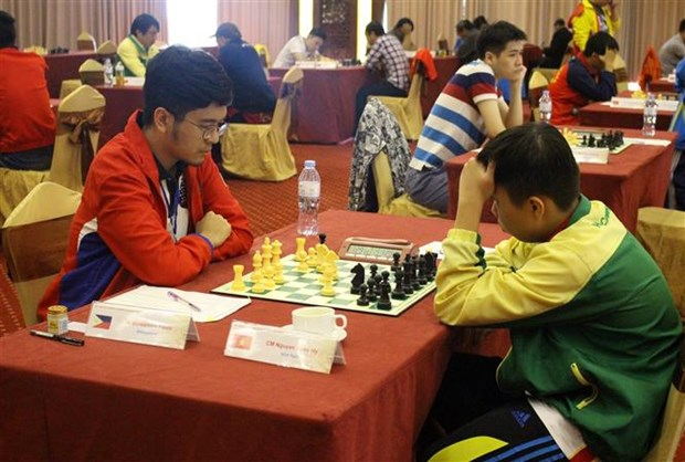 2019年东南亚国际象棋锦标赛开幕 hinh anh 1