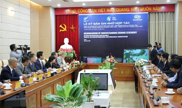越南和新西兰开展天气预报领域合作 hinh anh 1