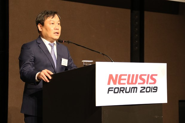 首次越南经济论坛在韩国举行 hinh anh 1