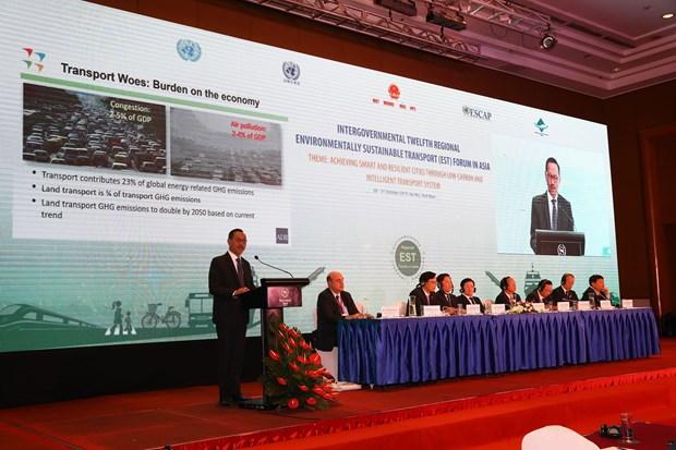 郑廷勇副总理:支持第十二届环境可持续交通地区(亚洲)论坛通过《河内宣言》 hinh anh 2
