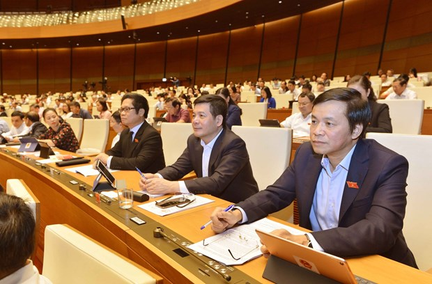 越南第十四届国会第八次会议公报(第六号) hinh anh 1