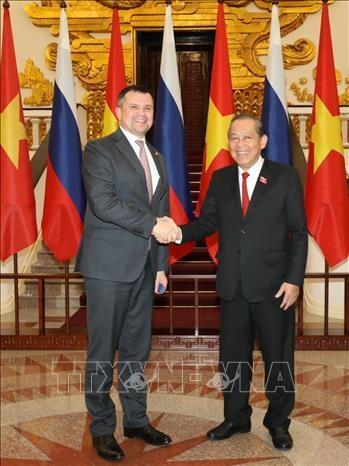 越俄两国政府副总理举行会晤 hinh anh 1