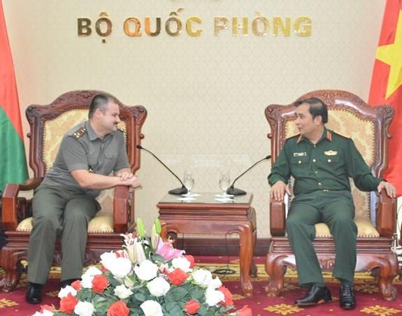 越南与白俄罗斯促进军事科学合作 hinh anh 1