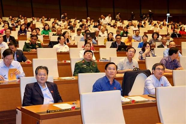越南第十四届国会第八次会议开始讨论经济社会问题 hinh anh 2