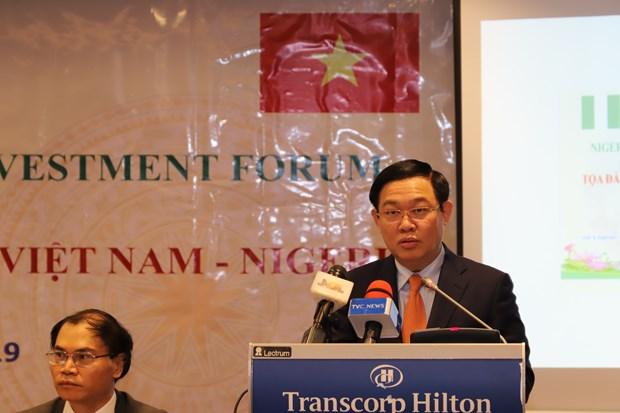 政府副总理王廷惠对尼日利亚进行工作访问 hinh anh 2