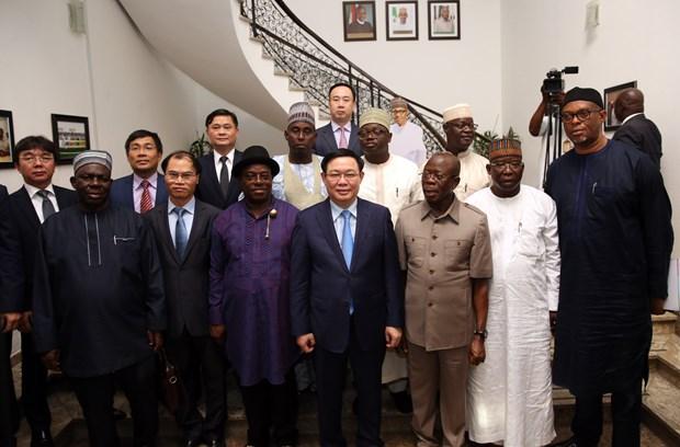 政府副总理王廷惠对尼日利亚进行工作访问 hinh anh 1