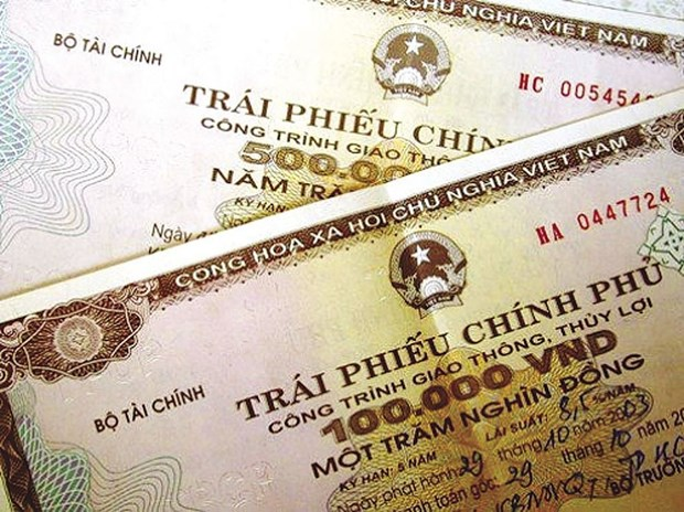 越南政府债券招标发行计划完成率达70% hinh anh 1
