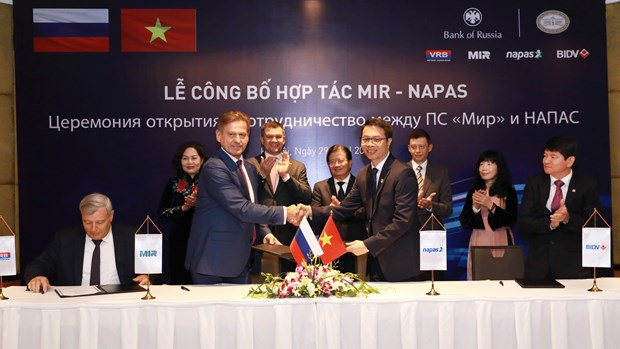 越南和俄罗斯加强ATM卡支付领域合作 hinh anh 1
