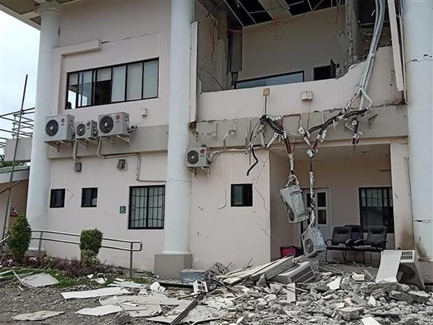 菲律宾南部再次发生强震 hinh anh 1