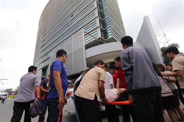 菲律宾南部地震造成至少5人死亡 hinh anh 2