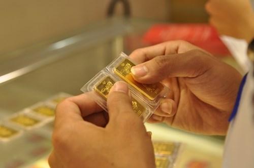 10月31日越南国内黄金价格上升至4200万越盾 hinh anh 1