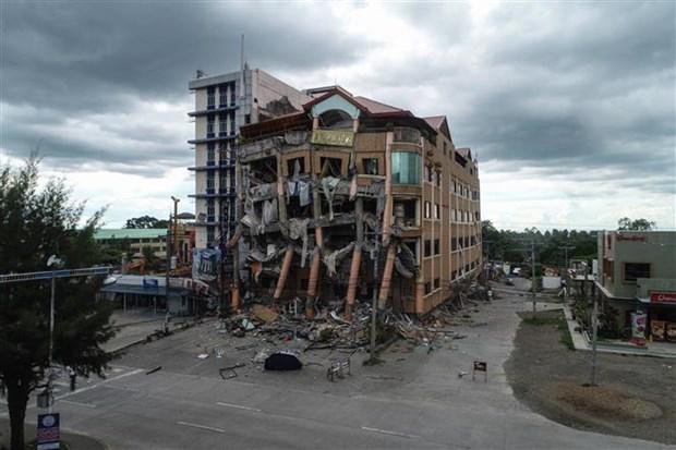 菲律宾南部地震造成至少5人死亡 hinh anh 1