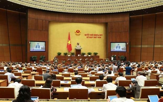 越南第十四届国会第八次会议公报(第八号) hinh anh 1