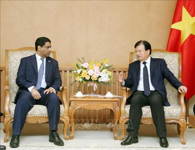 越南政府继续为阿联酋企业扩大在越投资规模创造条件 hinh anh 1