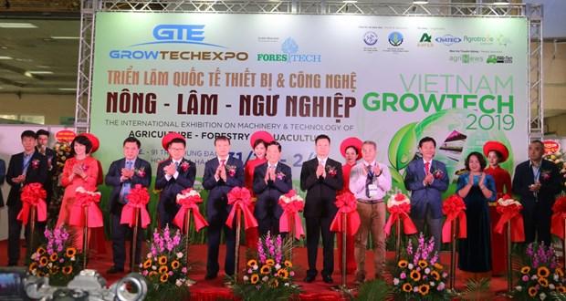 Vietnam Growtech 2019展览会在河内开展 hinh anh 1