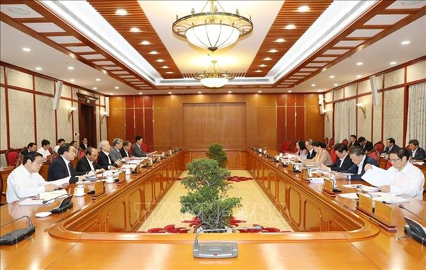 越共中央政治局就关于中央反腐败指导委员会职责的规定修改补充工作进行讨论 hinh anh 2