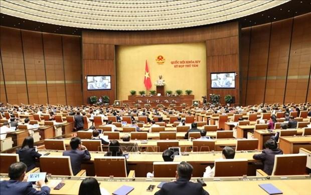 越南第十四届国会第八次会议公报(第十号) hinh anh 1