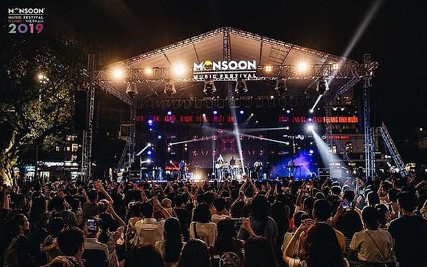 2019年季风音乐节即将在升龙皇城再续热潮 hinh anh 1