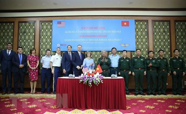 越南与美国合作开展边和机场迪奥辛污染清除项目 hinh anh 2