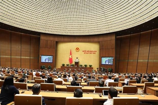 越南第十四届国会第八次会议:充分挖掘少数民族地区和山区的潜力与优势 hinh anh 1
