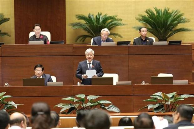 越南第十四届国会第八次会议:为少数民族同胞地区发展注入动力 hinh anh 1