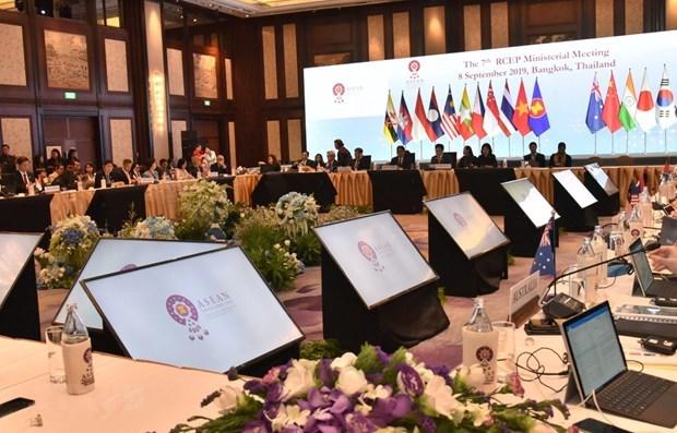 亚太地区16国部长力争2019年底达成《区域全面经济伙伴关系协定》 hinh anh 1