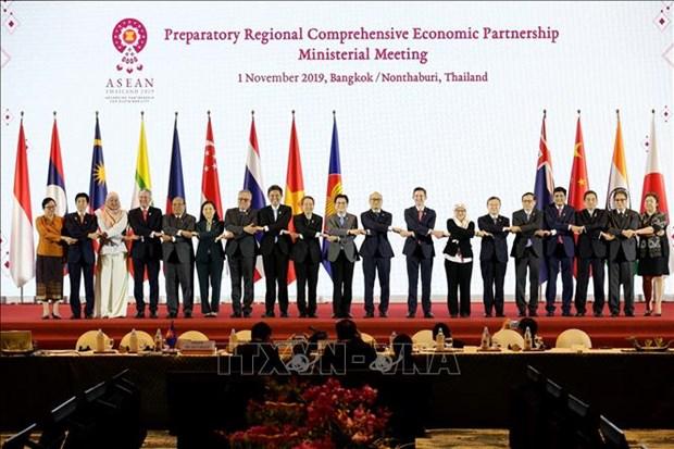 越南贡献积极力量 致力于解决RCEP谈判中存在的问题 hinh anh 1
