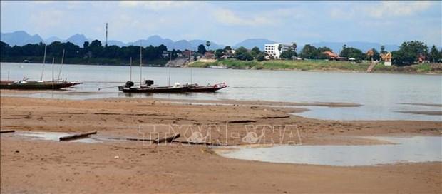 """泰国:湄公河水位已经降至""""临界点"""" hinh anh 1"""