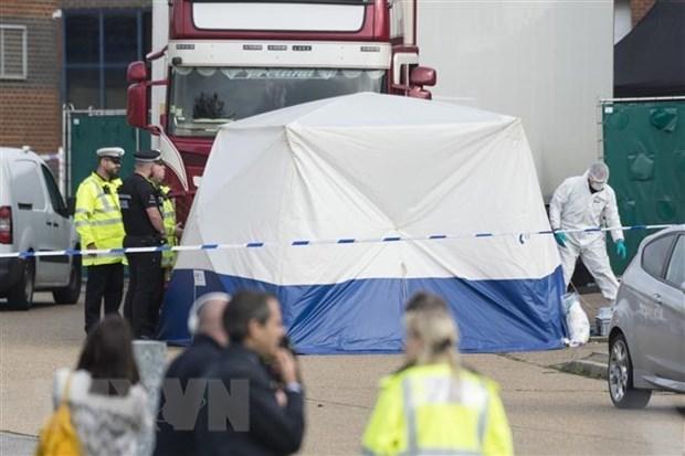 英国集装箱藏尸案: 越南驻英国大使馆发布新闻公报 hinh anh 1