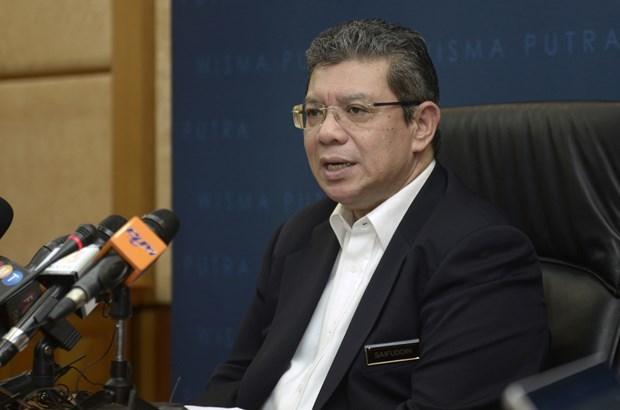 第35届东盟峰会:马来西亚对东海形势深表关切 hinh anh 1