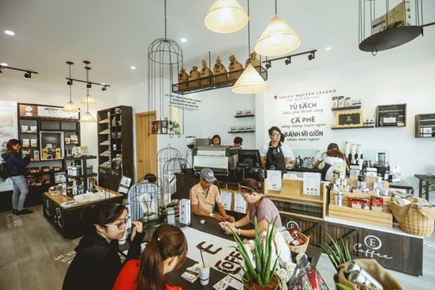 中原集团至2020年将开设3000个E-Coffee咖啡店 hinh anh 1