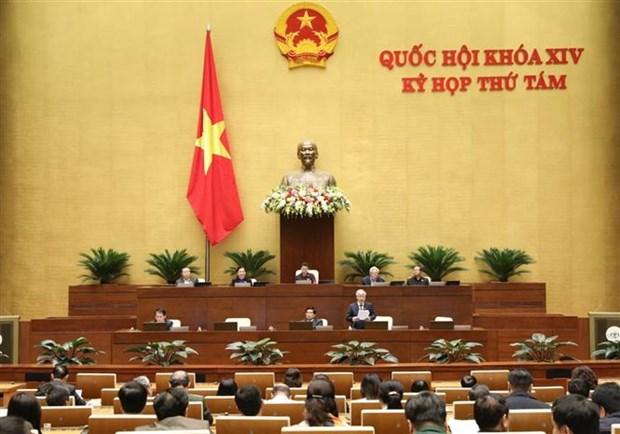 越南第十四届国会第八次会议进入第三周:围绕四大主题开展询问活动 hinh anh 1