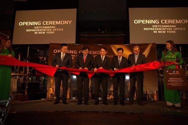 Vietcombank--在美国开业的越南首家银行 hinh anh 1