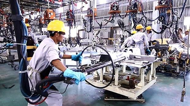今年前10月加工制造业生产指数增长10.8% hinh anh 2