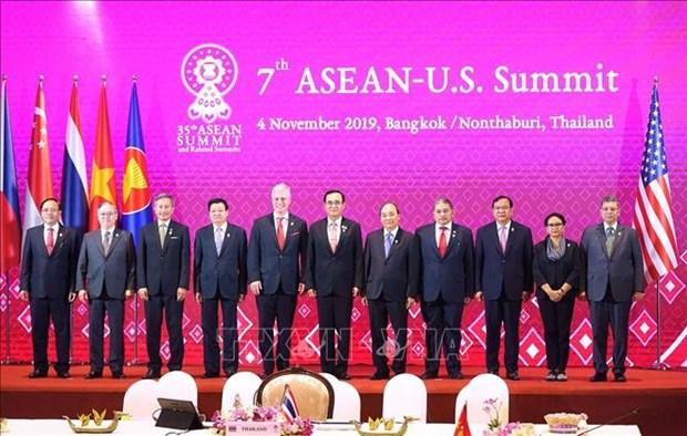 第35届东盟峰会:美国强调仍将注重深化与亚洲合作 hinh anh 1