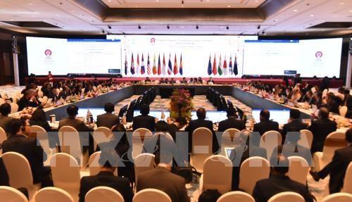 东盟第35届峰会:东盟各国结束RCEP谈判 hinh anh 1