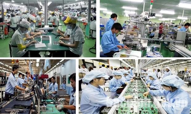 今年前10月加工制造业生产指数增长10.8% hinh anh 1