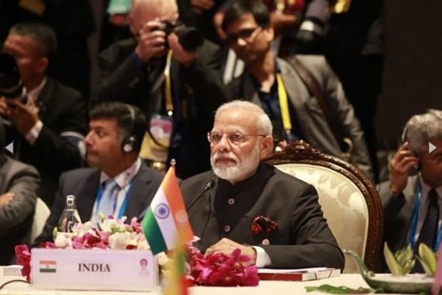 印度和东盟支持维护东海和平 hinh anh 1