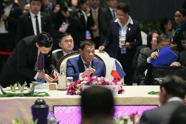 第35届东盟峰会:菲总统呼吁东盟通过RCEP加快经济一体化进程 hinh anh 1