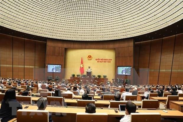 第十四届国会第八次会议:就司法和打击犯罪工作进行讨论 hinh anh 1
