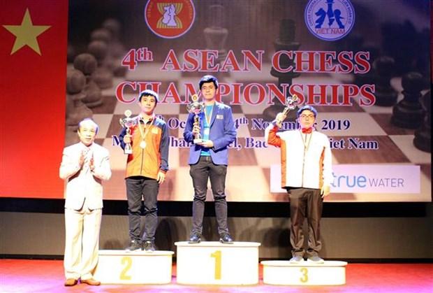 2019年东南亚国际象棋锦标赛闭幕 越南队夺得14枚奖牌 hinh anh 1