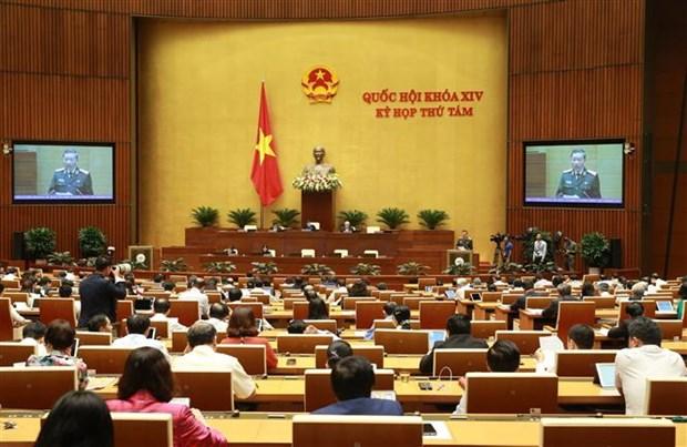 第十四届国会第八次会议:牢牢维护国家安全和社会治安秩序 hinh anh 2