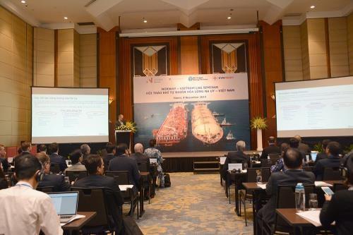 挪威愿向越南进行液化天然气领域的技术转让 hinh anh 1