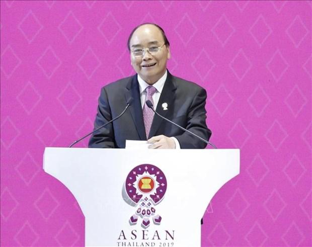 第35届东盟峰会和系列会议闭幕 hinh anh 1