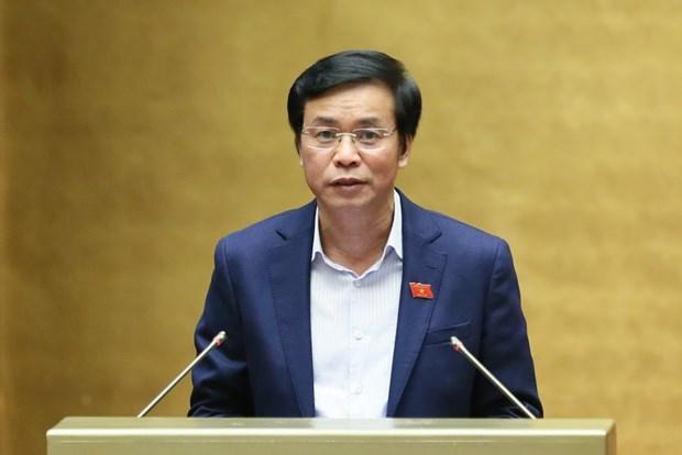 越南第十四届国会第八次会议:国会听取关于英国货车39人死亡事件的报告 hinh anh 1