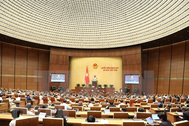 越南第十四届国会第八次会议:国会听取关于英国货车39人死亡事件的报告 hinh anh 2