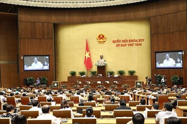 越南第十四届国会第八次会议公报(第十二号) hinh anh 1