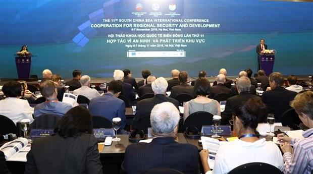 第11次东海国际学术研讨会:寻找创新解决方案 改善海上安全形势 hinh anh 1