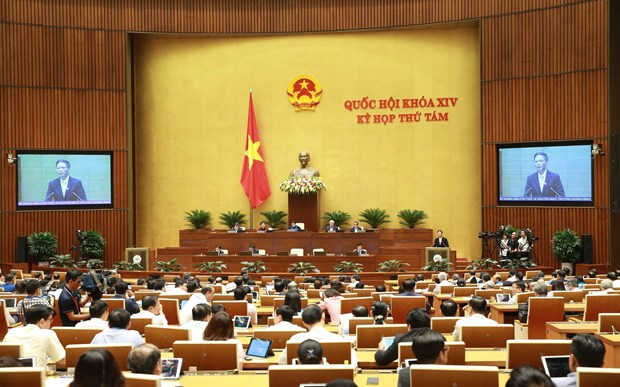 越南第十四届国会第八次会议公报(第十三号) hinh anh 1
