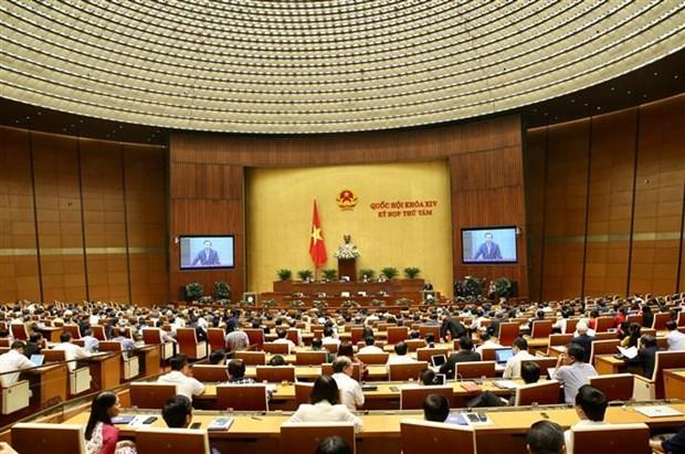 越南国会第八次会议专题询问活动开幕 hinh anh 1
